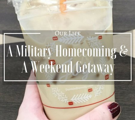 A Military Homecoming And A Weekend Getaway