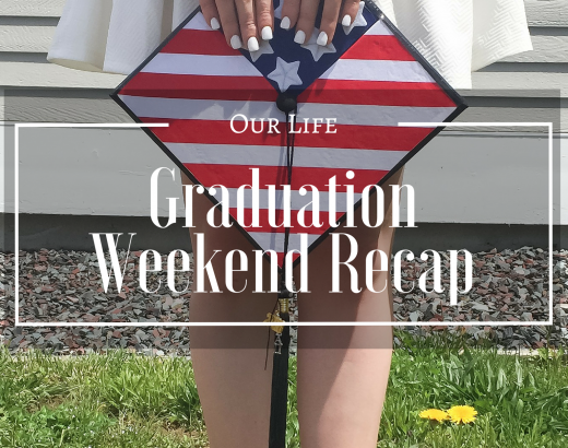 Graduation Weekend Recap