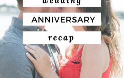 Our 3rd Wedding Anniversary Recap