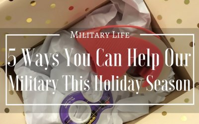 5 Ways You Can Help Our Military This Holiday Season