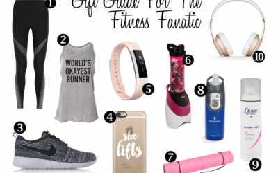 The Perfect Gift Guide For The Fitness Fanatic