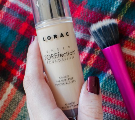 Beauty Review | Lorac Sheer POREfection Foundation