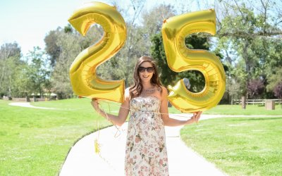 A Birthday Post + 25 Random Facts About Me