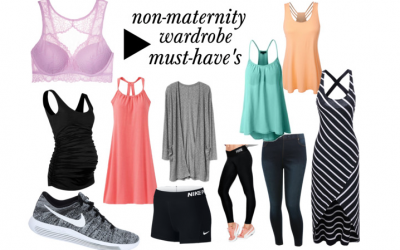 My NON-Maternity Wardrobe Must-Have's