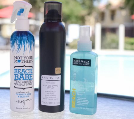 My Top Products For Beachy Waves