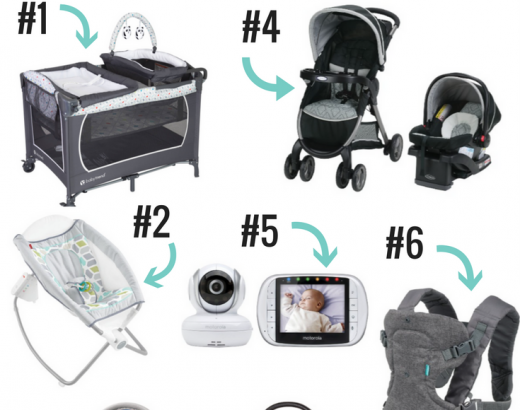 Must-Have Baby Products To Add to Your Registry