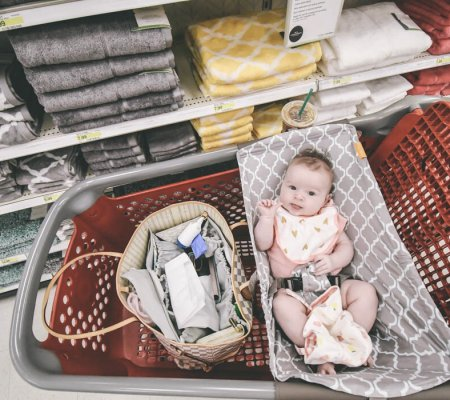 How To Tackle Grocery Shopping With An Infant Like A Pro