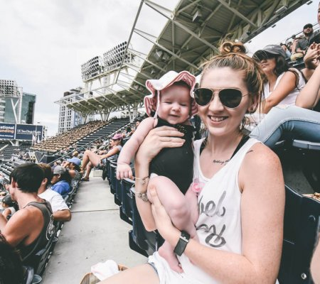 How To Survive A Sporting Event With A Baby