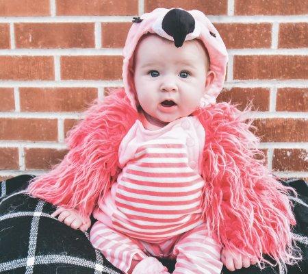 Pumpkins, Disney, & Allie's First Halloween