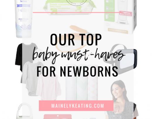 Newborn Must-Haves & Regrets