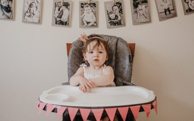 Allie's First Birthday Weekend Recap