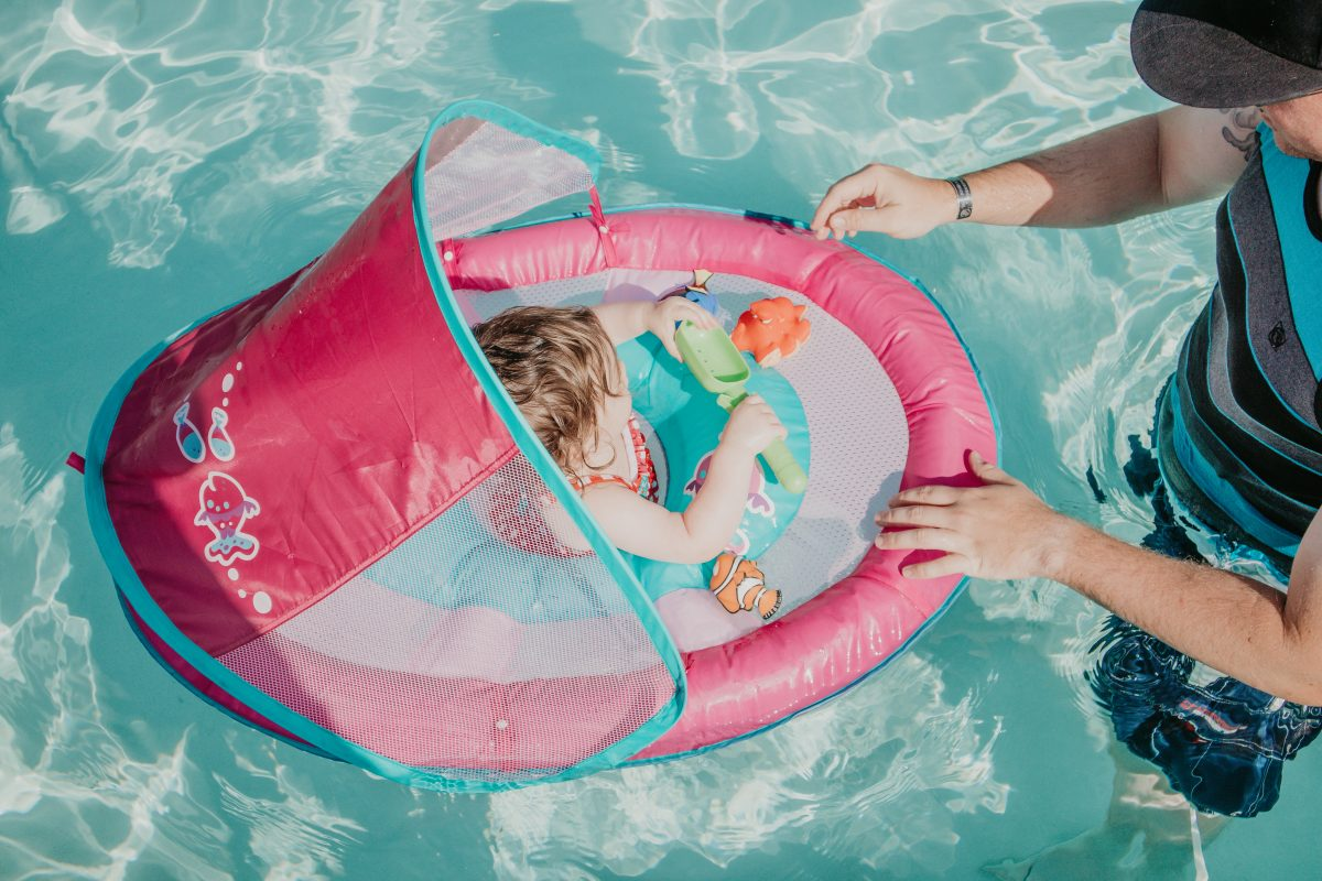 Our Infant/Toddler Pool Day Essentials | Mainely Keating