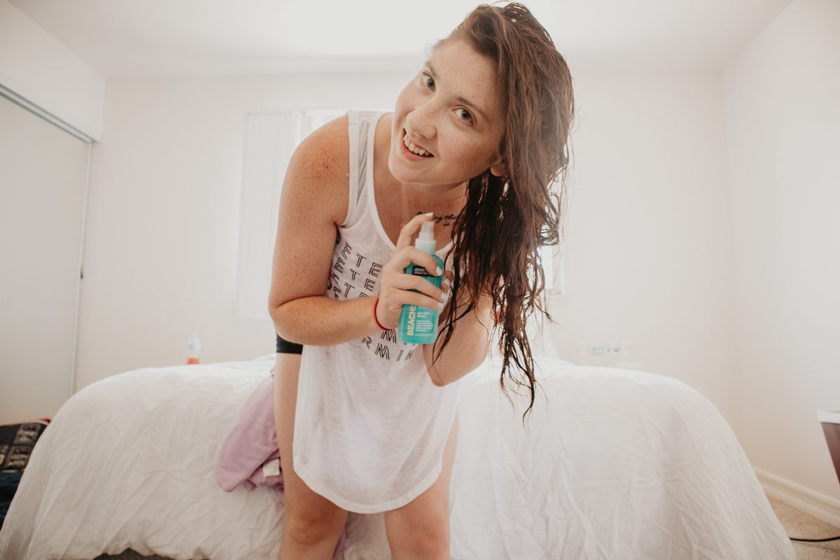 My Summer Hair Care Routine With Hair Remedie Frizz Eliminating Towels | MainelyKeating.com