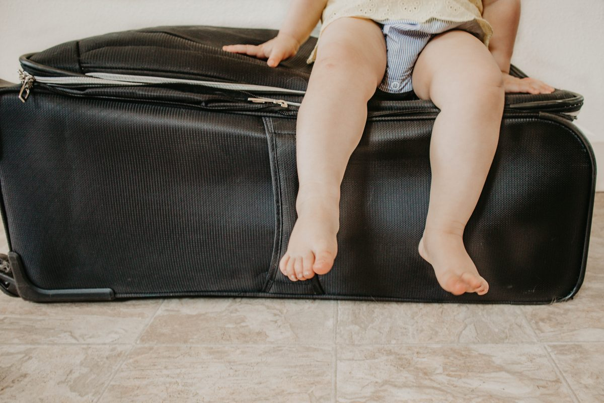 The Ultimate Guide To Flying Solo With A Toddler | MainelyKeating.com