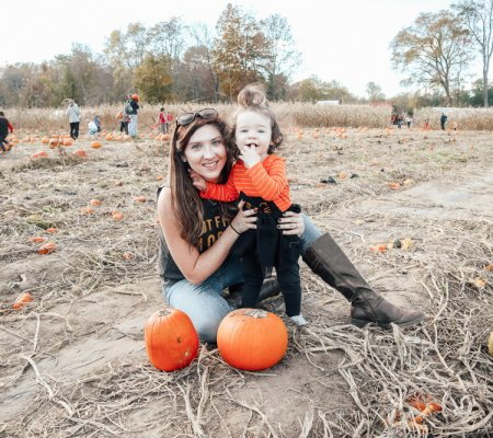 Family Outing At Pumpkin Valley Farm