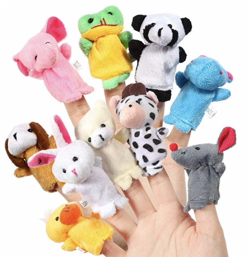 Stocking Stuffers For Toddlers - Finger Puppets