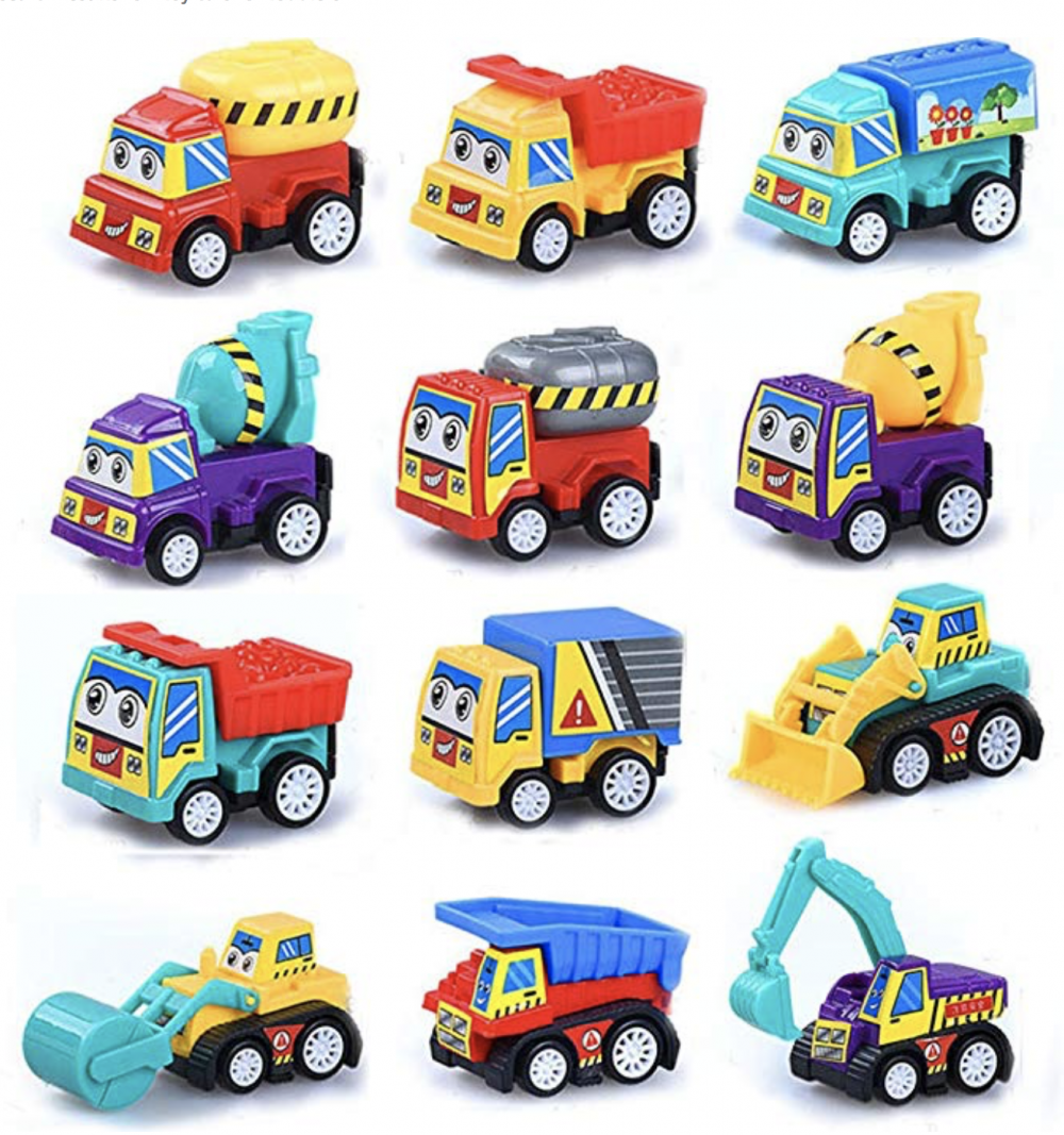 Stocking Stuffers For Toddlers - Pull Back Vehicles