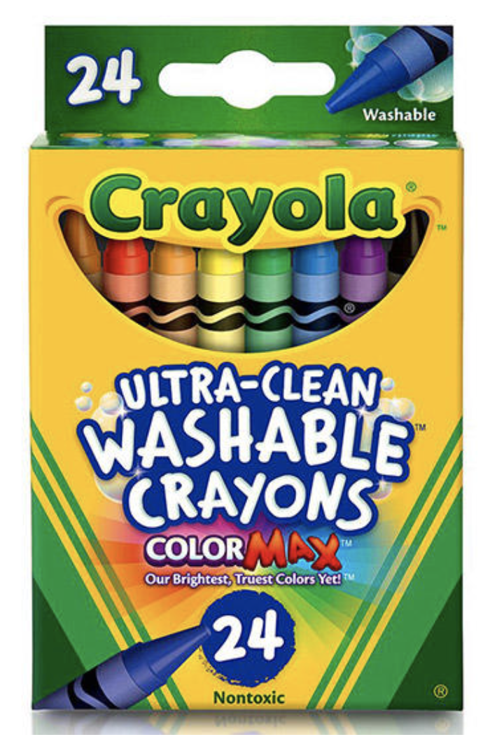 Stocking Stuffers For Toddlers - Washable Crayons