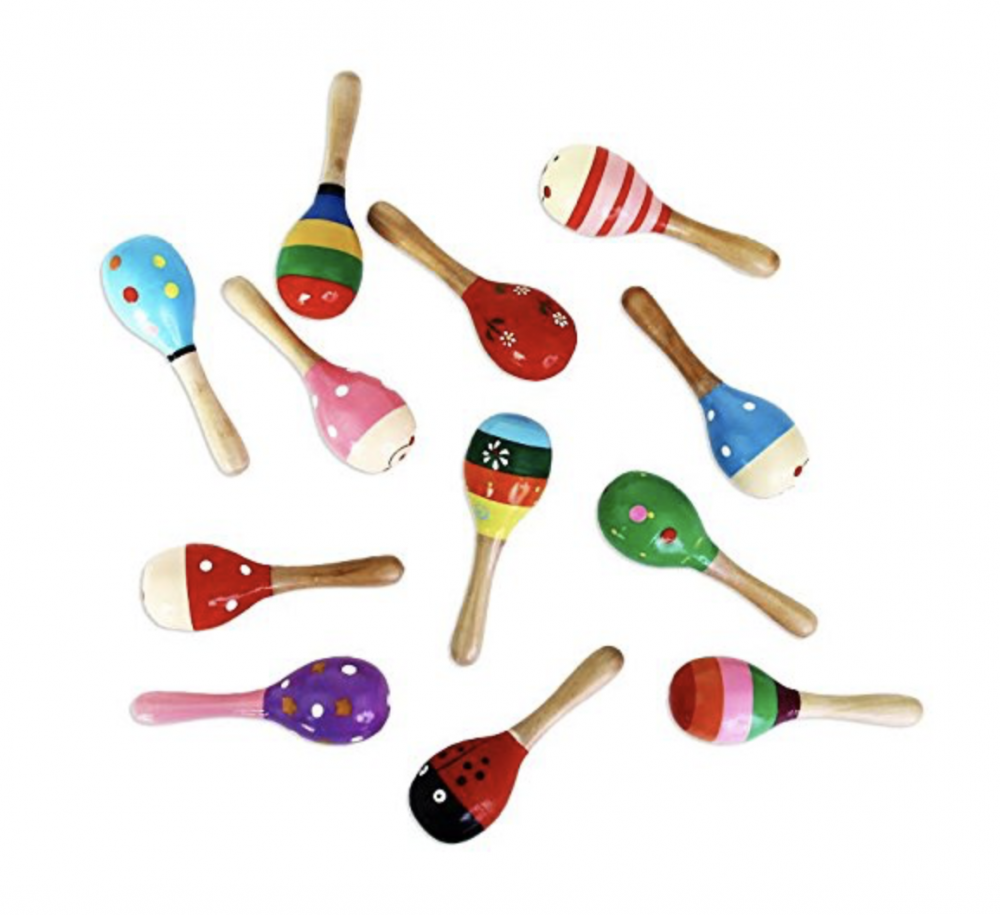 Stocking Stuffers For Toddlers - Wooden Maracas